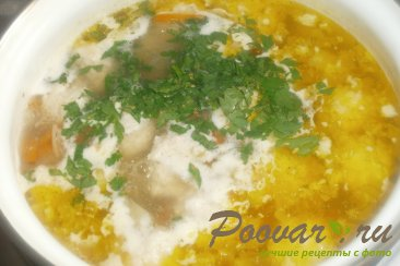 Суп с куриными фрикадельками Шаг 15 (картинка)