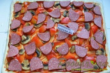 Домашняя пицца ассорти Шаг 9 (картинка)