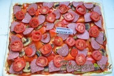 Домашняя пицца ассорти Шаг 10 (картинка)