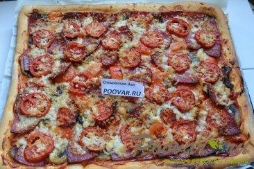 Домашняя пицца ассорти Шаг 12 (картинка)