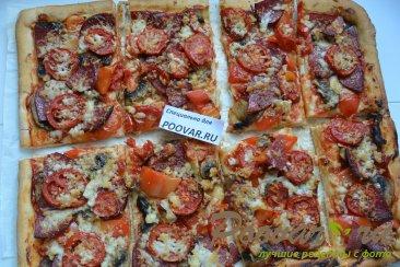 Домашняя пицца ассорти Шаг 13 (картинка)