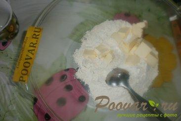 Сливовый пирог с орехами Шаг 1 (картинка)