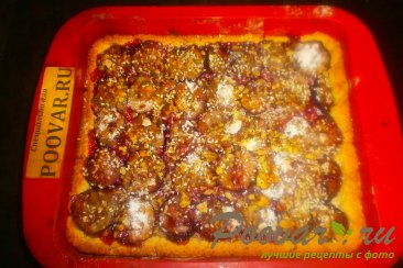 Сливовый пирог с орехами Шаг 16 (картинка)