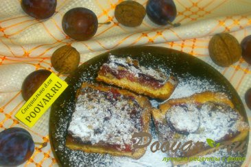 Сливовый пирог с орехами Шаг 18 (картинка)
