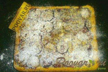 Сливовый пирог с орехами Шаг 17 (картинка)