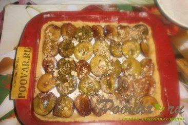 Сливовый пирог с орехами Шаг 14 (картинка)