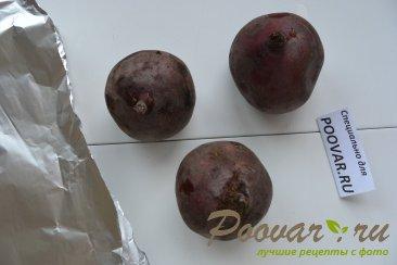 Салат со свеклой, сельдью и запечённый  картофель Шаг 1 (картинка)