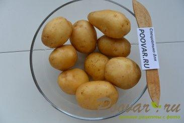Салат со свеклой, сельдью и запечённый  картофель Шаг 10 (картинка)