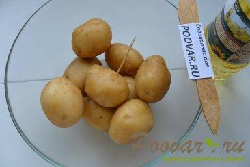 Салат со свеклой, сельдью и запечённый  картофель Шаг 11 (картинка)