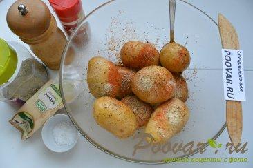 Салат со свеклой, сельдью и запечённый  картофель Шаг 12 (картинка)