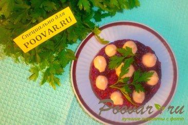 Салат из баклажанов и свёклы Изображение
