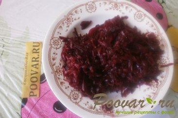 Салат из баклажанов и свёклы Шаг 10 (картинка)