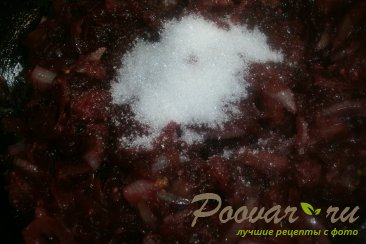 Салат из баклажанов и свёклы Шаг 12 (картинка)