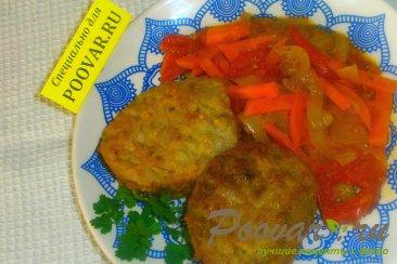 Котлеты гречаники с овощами Изображение