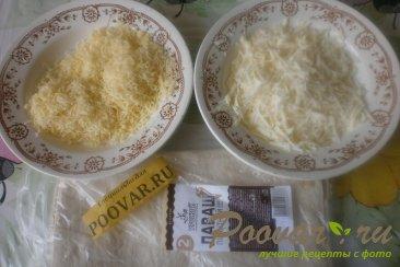 Рулеты из лаваша с сыром в духовке Шаг 1 (картинка)