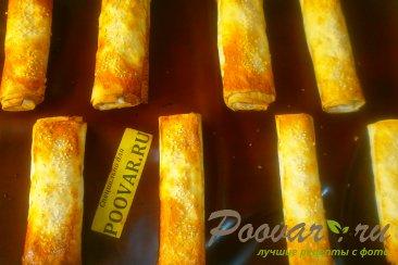 Рулеты из лаваша с сыром в духовке Шаг 10 (картинка)
