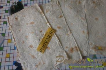 Рулеты из лаваша с сыром в духовке Шаг 3 (картинка)