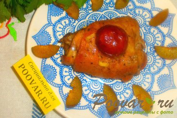 Курица со сливами Шаг 16 (картинка)