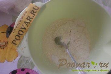 Творожные кексы со сливой Шаг 3 (картинка)
