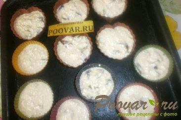 Творожные кексы со сливой Шаг 9 (картинка)