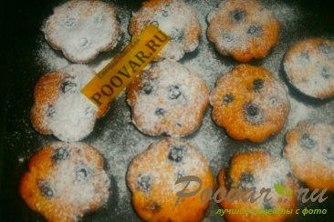 Творожные кексы со смородиной Шаг 12 (картинка)