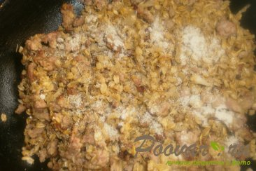Жареная овсянка с фаршем Шаг 10 (картинка)
