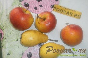 Жареные пирожки с яблоками и грушами Шаг 2 (картинка)