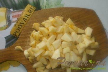 Жареные пирожки с яблоками и грушами Шаг 3 (картинка)