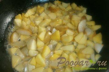 Жареные пирожки с яблоками и грушами Шаг 5 (картинка)
