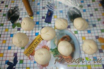 Жареные пирожки с яблоками и грушами Шаг 9 (картинка)