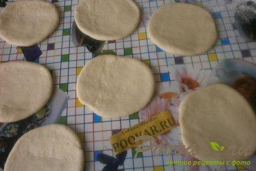 Жареные пирожки с яблоками и грушами Шаг 10 (картинка)