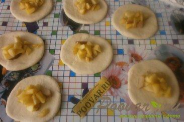 Жареные пирожки с яблоками и грушами Шаг 11 (картинка)