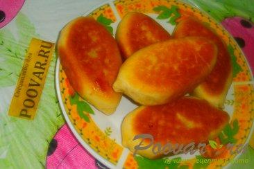 Жареные пирожки с яблоками и грушами Шаг 15 (картинка)