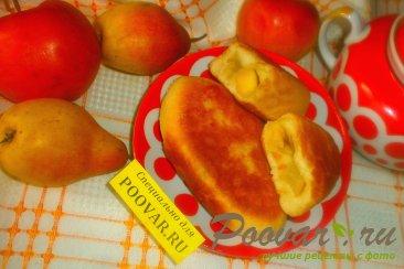 Жареные пирожки с яблоками и грушами Шаг 16 (картинка)