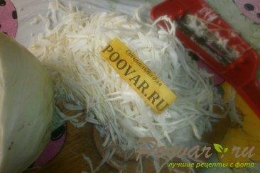 Салат из белокочанной капусты с сыром Шаг 1 (картинка)