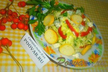 Салат из белокочанной капусты с сыром Шаг 14 (картинка)