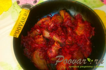 Салат из печени и свёклы Шаг 16 (картинка)