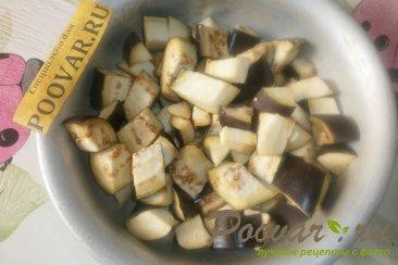 Тушёные баклажаны с тыквой Шаг 1 (картинка)