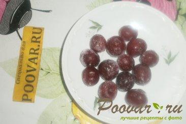 Тыква с вишней и виноградом Шаг 5 (картинка)