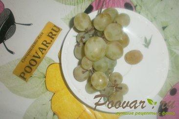 Тыква с вишней и виноградом Шаг 7 (картинка)