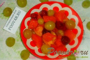 Тыква с вишней и виноградом Шаг 12 (картинка)