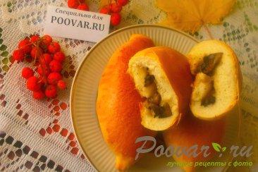 Пирожки с грибами и сыром в духовке Изображение