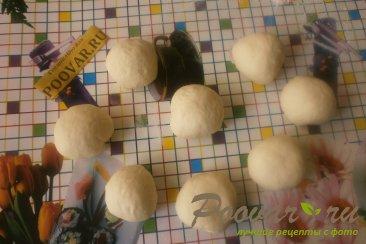 Пирожки с грибами и сыром в духовке Шаг 9 (картинка)