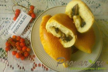 Пирожки с грибами и сыром в духовке Шаг 16 (картинка)