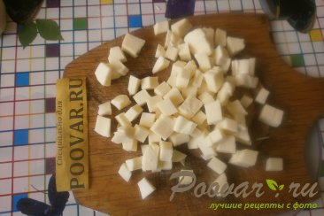 Пирожки с грибами и сыром в духовке Шаг 5 (картинка)