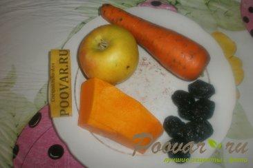 Оладьи с тыквой и черносливом Шаг 1 (картинка)