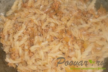 Макароны по-флотски с томатной пастой Шаг 12 (картинка)