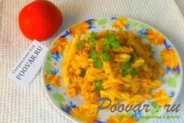Макароны по-флотски с томатной пастой Шаг 15 (картинка)