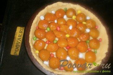 Тёртый пирог с абрикосами Шаг 12 (картинка)