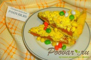 Тёртый пирог с абрикосами Шаг 17 (картинка)